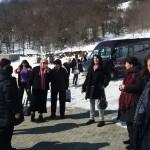 Пристигнување во Лешочкиот манастир